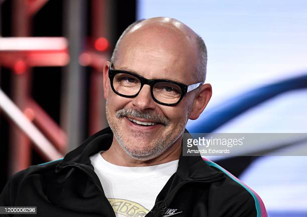 Rob Corddry of 'Top Gear America' speaks onstage during the MotorTrend portion of the Discovery Inc TCA Winter Panel 2020 at The Langham Huntington...
