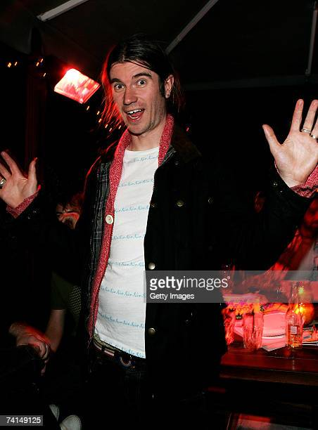 Rob da Bank attends the Ibiza Rocks with Sony Ericsson launch party at The Lock Tavern Camden on May 14 2007 in London England The music event is set...