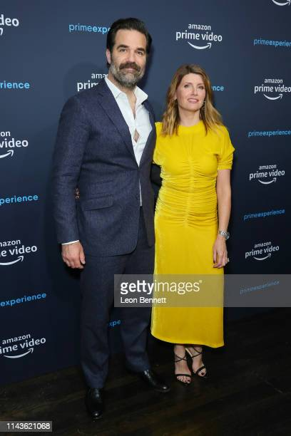 Rob Delaney and Sharon Horgan attend a 'Catastrophe' FYC screening and panel hosted by Amazon Prime Experience at Hollywood Athletic Club on April 18...