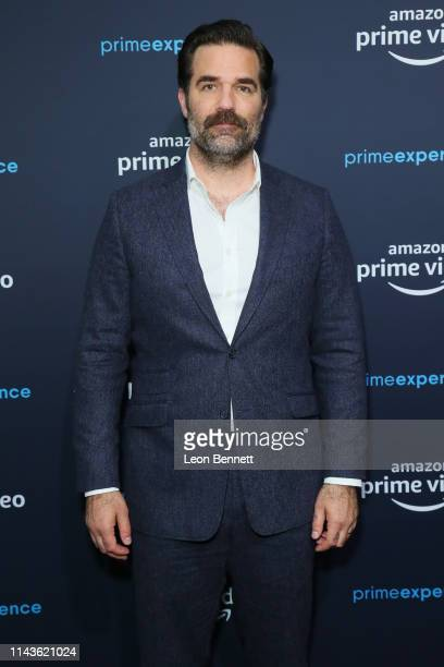 Rob Delaney attends a 'Catastrophe' FYC screening and panel hosted by Amazon Prime Experience at Hollywood Athletic Club on April 18 2019 in...