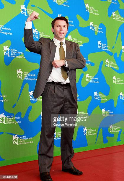 Rob Devaney attends the Redacted Photocall in Venice during day 3 of the 64th Venice Film Festival on August 31 2007 in Venice Italy