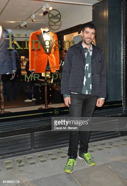 Rob Diament attends the launch of the 'Kingsman' shop on St James's Street in partnership with MR PORTER MARV Twentieth Century Fox in celebration of...