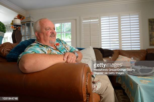 Rob Driggers and his wife, Pam Driggers, at their Laguna Niguel home on Thursday. Rob Driggers developed a serious infection after having his left...
