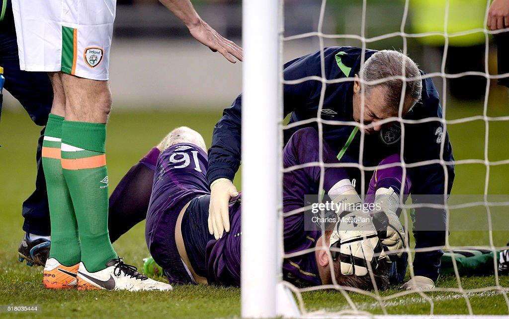 Republic of Ireland v Slovakia - International Friendly : News Photo