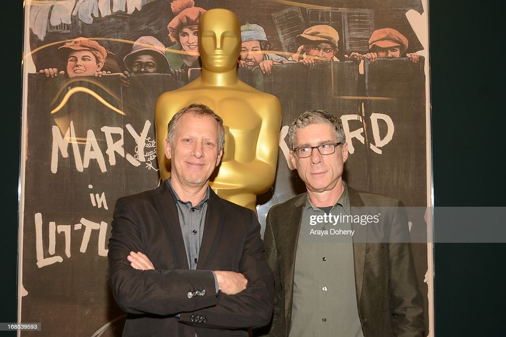 Rob Epstein and Jeffrey Friedman attend the AMPAS Hosts 'Portrait of Jason' Screening at Linwood Dunn Theater at the Pickford Center for Motion Study on May 10, 2013 in Hollywood, California.