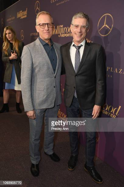 Rob Epstein and Jeffrey Friedman attend The Hollywood Reporter's 7th Annual Nominees Night presented by MercedesBenz Century Plaza Residences and...