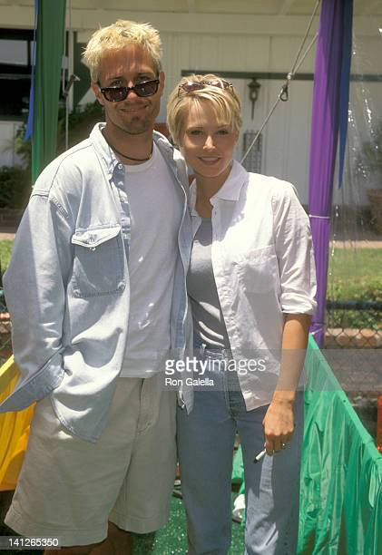 Rob Estes and Josie Bissett at the 9th Annual A Time for Heroes Celebrity Carnival Benefit Elizabeth Glaser Pediatric AIDS Foundation Home of Ken...