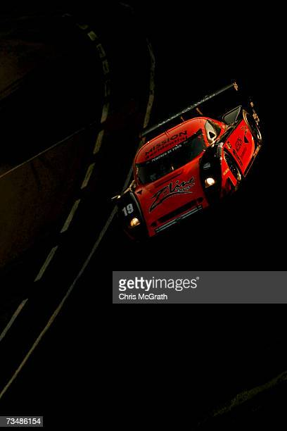Rob Finlay and Michael Valiante drive the Finlay Motorsports Ford Crawford during the GrandAm Rolex Sports Car Series race on March 3 2007 at the...
