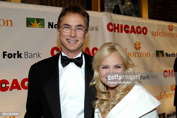 Rob Fisher and Kristin Chenoweth attend CHICAGO THE MUSICAL's 10 Year Anniversary AllStar Performance Benefit for Safe Horizon at Ambassador Theatre...