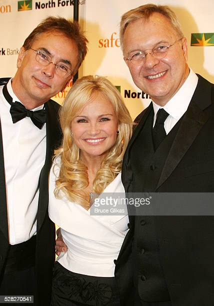 Rob Fisher musical director Kristin Chenoweth and Walter Bobbie director