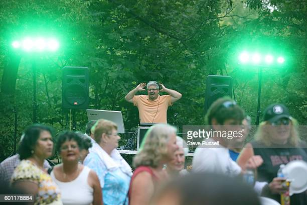 TORONTO ON SEPTEMBER 9 Rob Ford's former chief of staff Dan Jacobs DJs at the event The Ford family holds their annual barbecue dubbed FordFest it is...