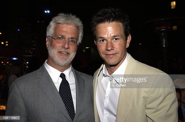Rob Friedman Mark Wahlberg during World Premiere of 'The Italian Job' AfterParty at Hollywood Blvd in Hollywood California United States