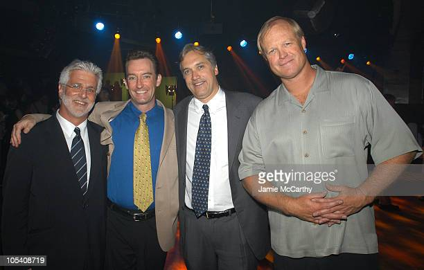 Rob Friedman vice chairman of the Motion Picture Group and COO Paramount Pictures Tom Kenny the voice of 'SpongeBob SquarePants' Herb Scannell...