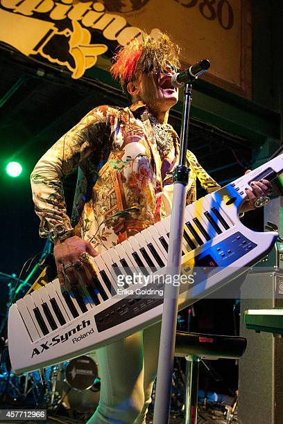 Rob Fusari aka 8Bit of Cary Nokey performs at Tipitina's on October 22 2014 in New Orleans Louisiana