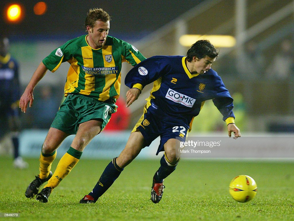 Nationwide League Division One: Wimbledon v West Bromwich Albion : News Photo