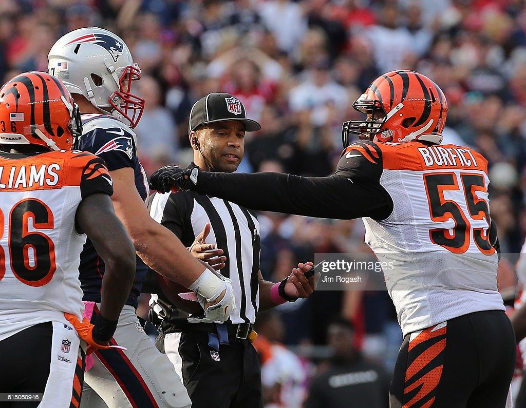 Cincinnati Bengals v New England Patriots : News Photo