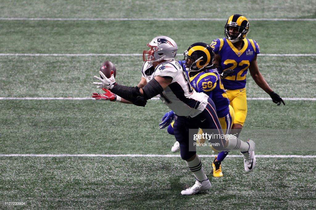 Super Bowl LIII - New England Patriots v Los Angeles Rams : Nachrichtenfoto
