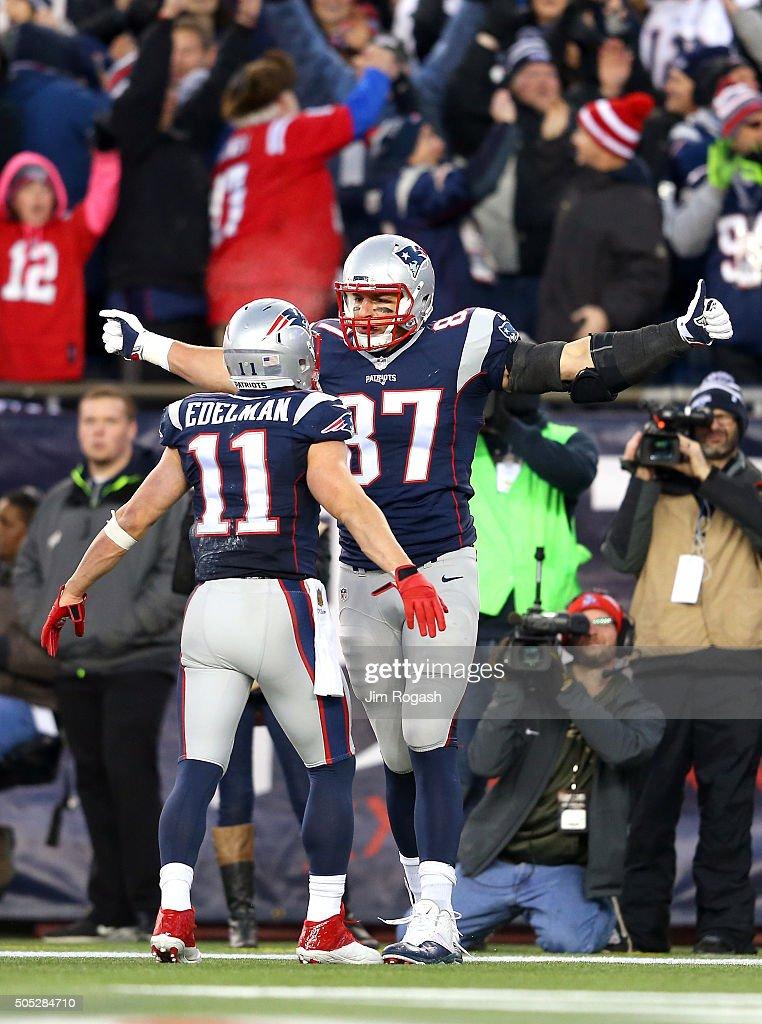 Divisional Round - Kansas City Chiefs v New England Patriots : Fotografia de notícias