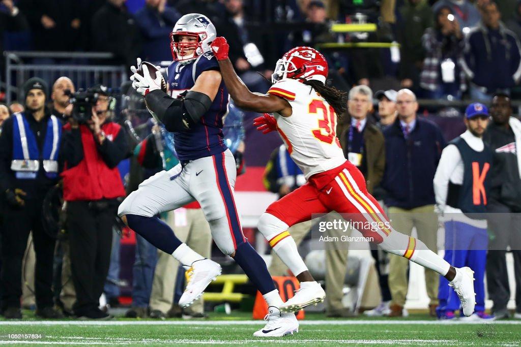 Kansas City Chiefs v New England Patriots : News Photo