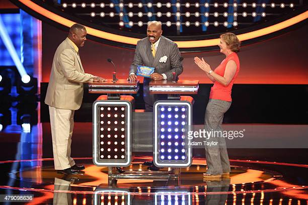 Celebrity Family Feud | Steve Harvey Tests Bill Engvall's ...