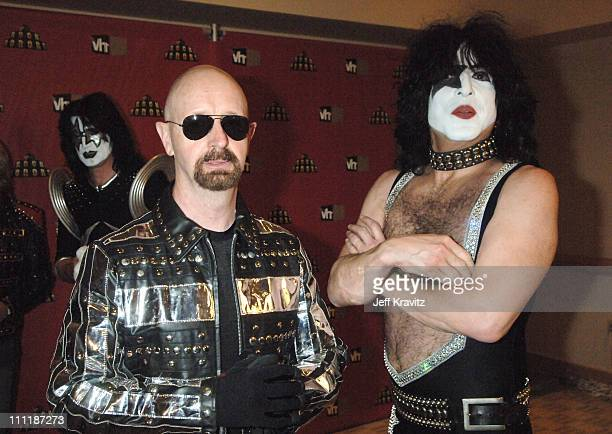 Rob Halford of Judas Priest and Paul Stanley of KISS