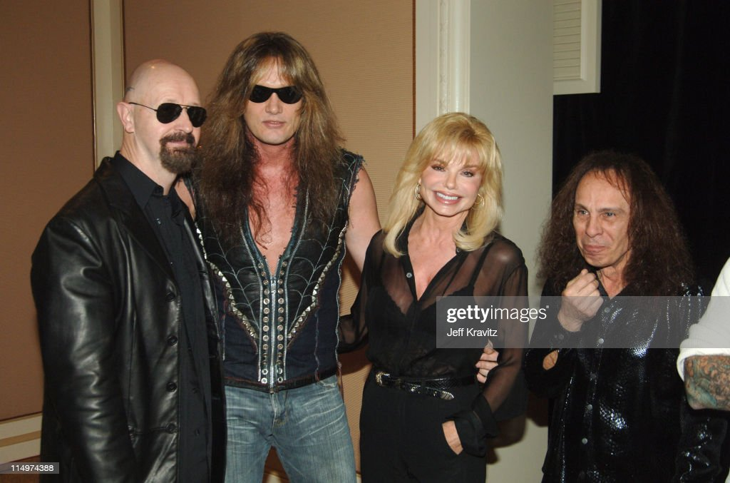 Rob Halford, Sebastian Bach, Loni Anderson and Ronnie James Dio