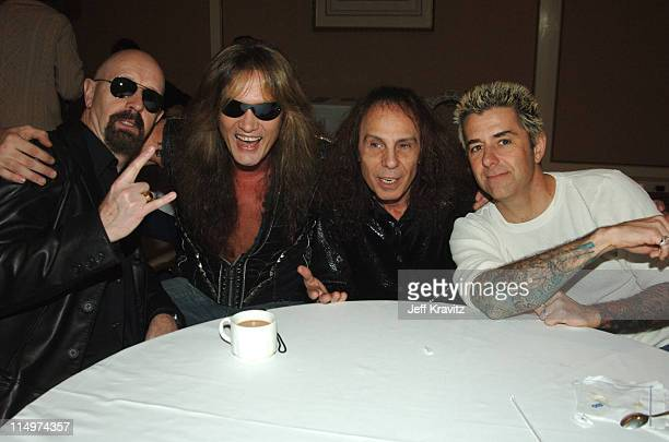 Rob Halford Sebastian Bach Ronnie James Dio and Ricki Rachman