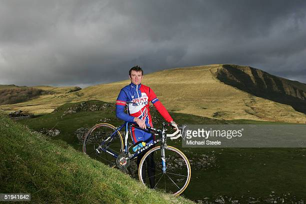 Rob Hayles professional rider for the MGX Power team and silver medallist of the Great Britain team pursuit of the Athens Olympic Games on January 12...