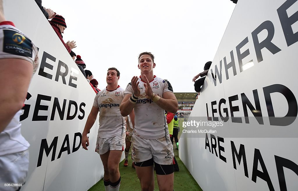 Ulster Rugby v Oyonnax - European Rugby Champions Cup : News Photo