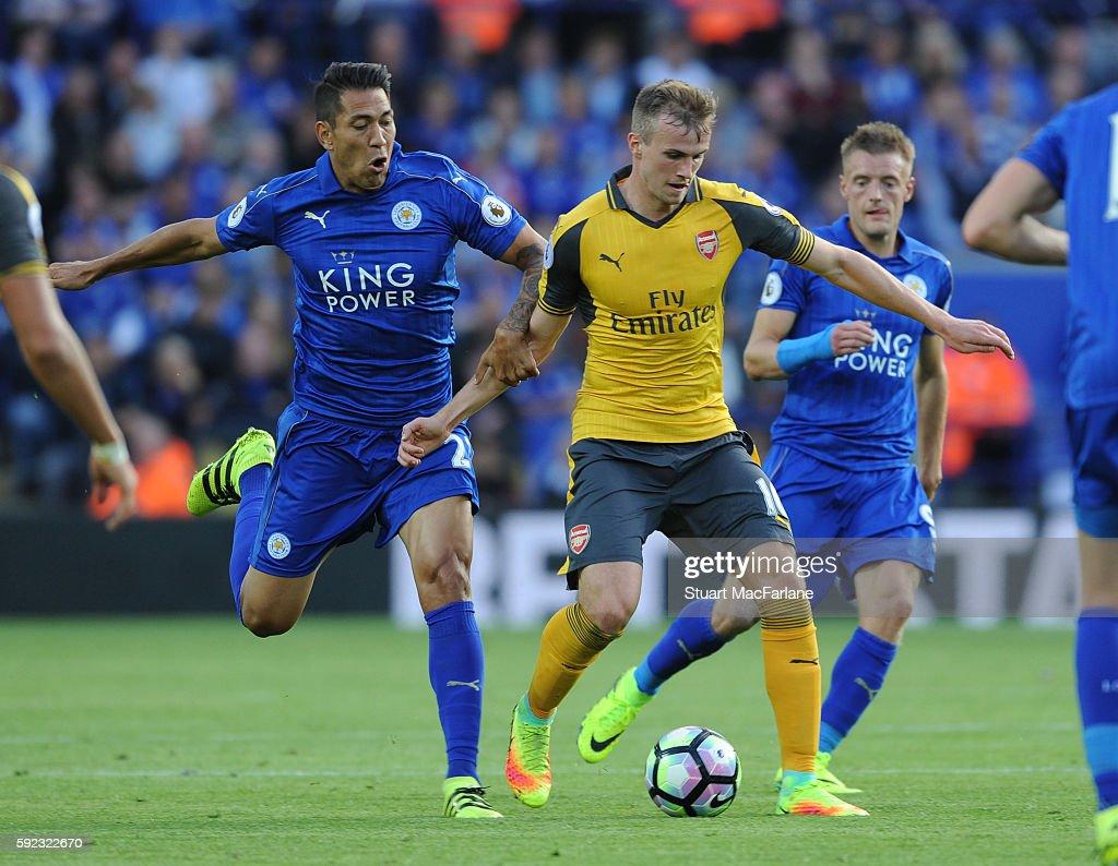 Leicester City v Arsenal - Premier League : News Photo