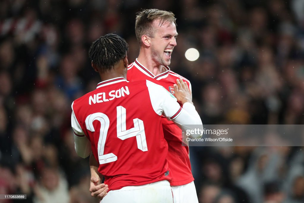 Arsenal FC v Nottingham Forrest  - Carabao Cup Third Round : ニュース写真