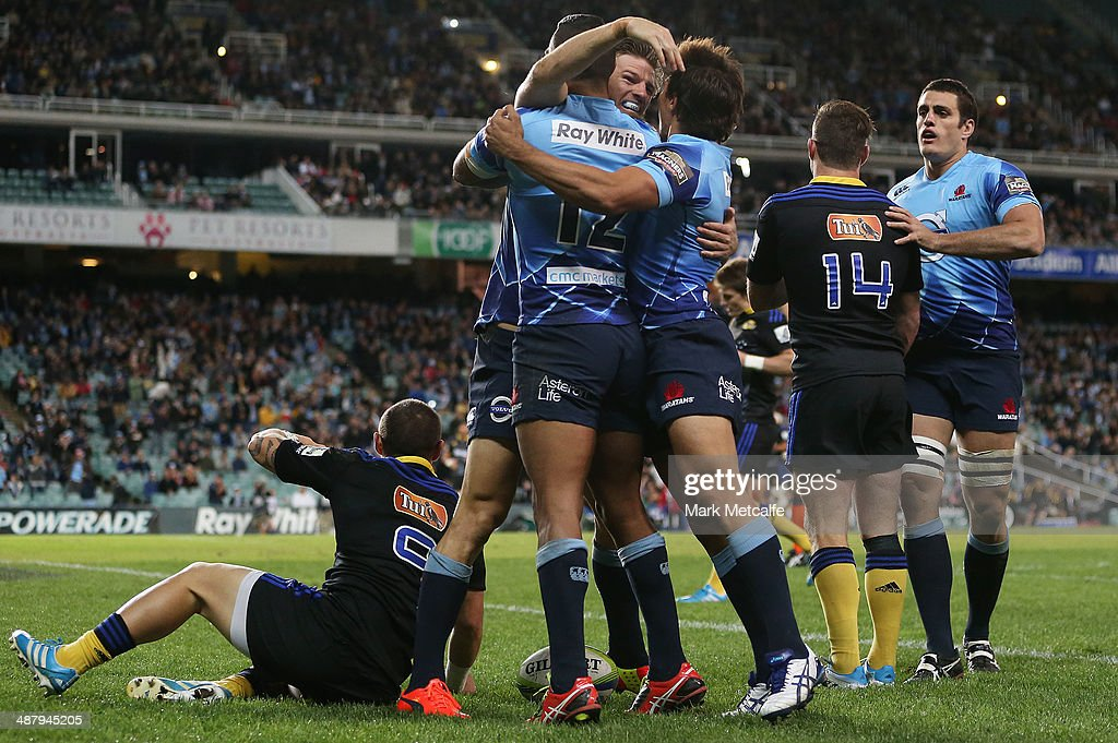 Super Rugby Rd 12 - Waratahs v Hurricanes : News Photo