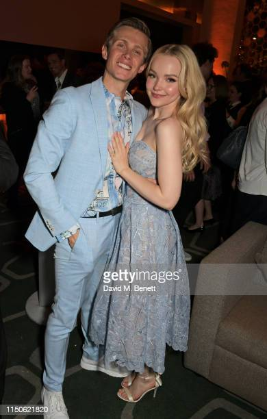 """Rob Houchen and Dove Cameron attend the press night after party for """"The Light In The Piazza"""" at Skylon on June 18, 2019 in London, England."""