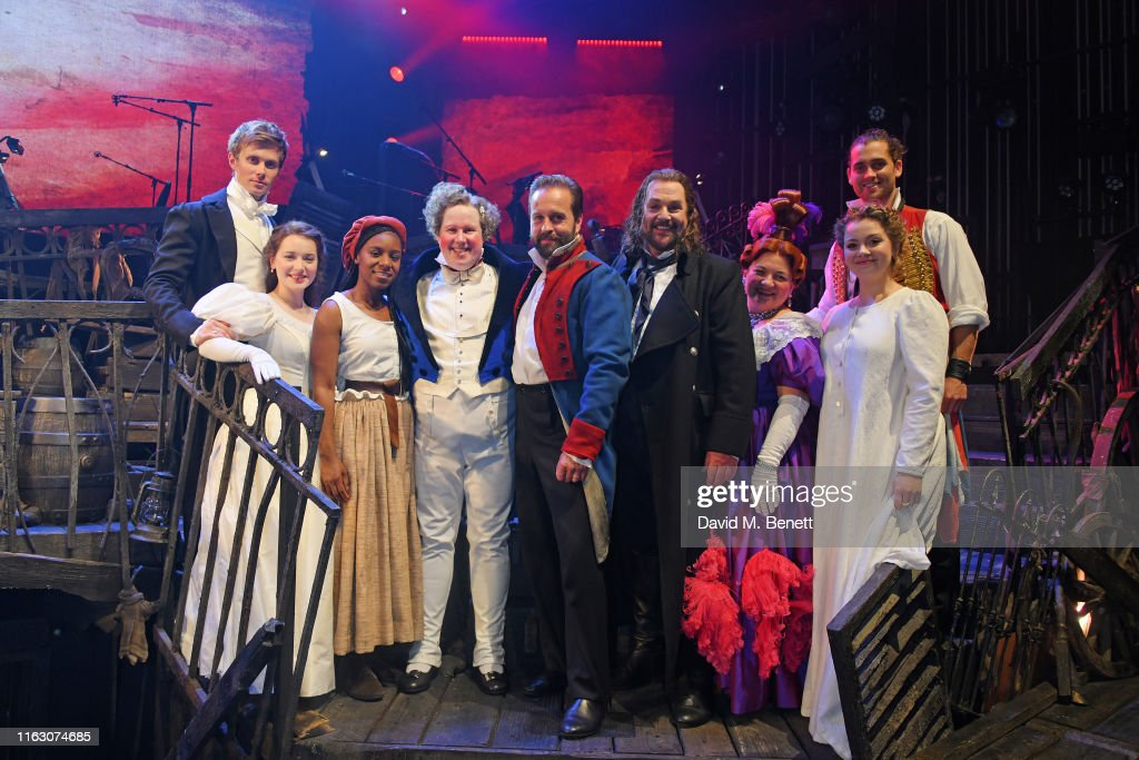 """""""Les Miserables: The Staged Concert"""" - Press Night - Curtain Call & Backstage : News Photo"""