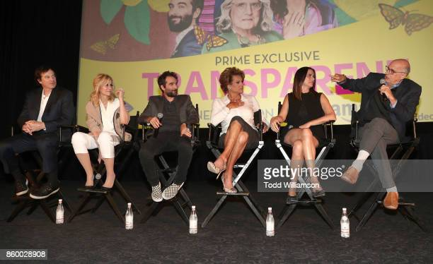 Rob Huebel Judith Light Jay Duplass Alexandra Billings Amy Landecker and Jeffrey Tambor attend an Amazon Prime Exclusive Series Transparent Season 4...