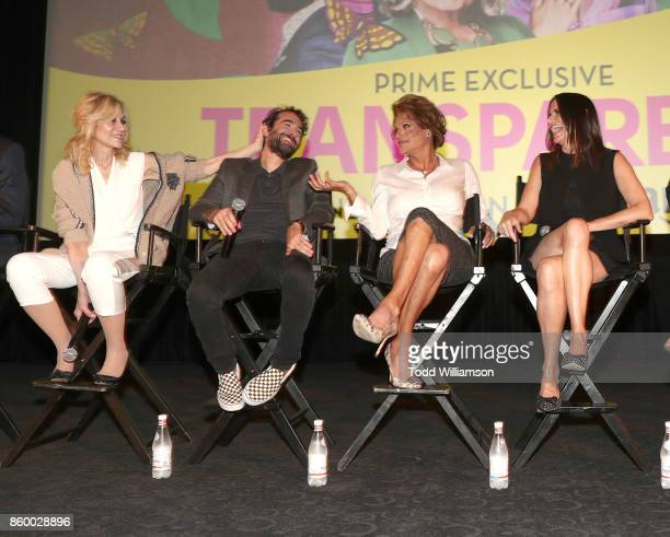 Rob Huebel Judith Light Jay Duplass Alexandra Billings and Amy Landecker attend an Amazon Prime Exclusive Series Transparent Season 4 SAG Screening...