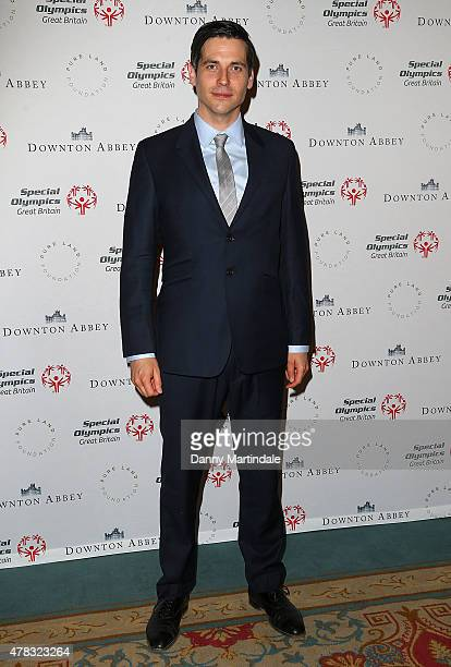 Rob JamesCollier attends the Downton Abbey Gala Dinner at The Landmark Hotel on June 24 2015 in London England