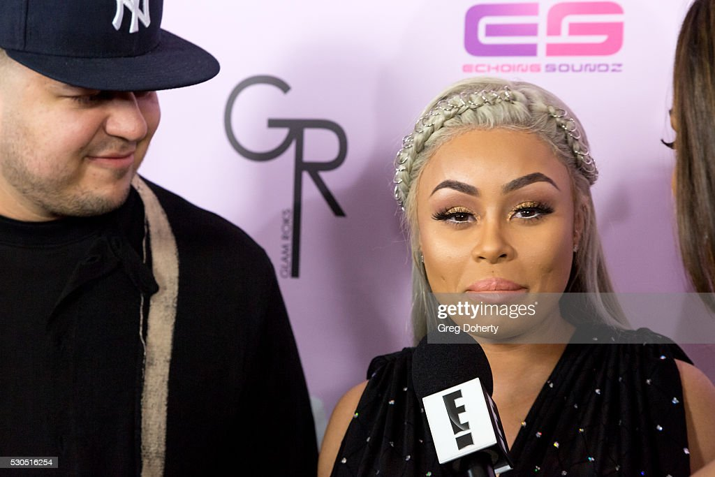 Blac Chyna Birthday Celebration And Unveiling Of Her 'Chymoji' Emoji Collection : News Photo