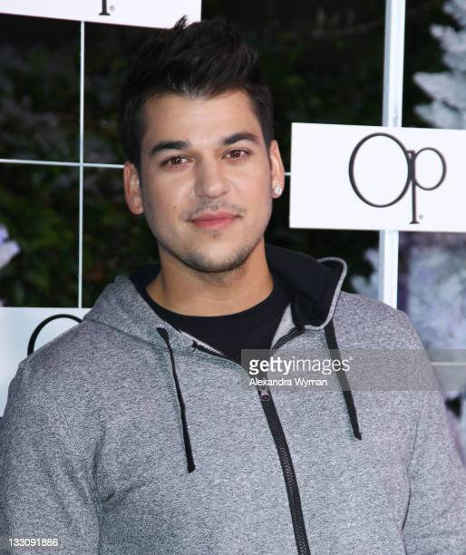Rob Kardashian at OP's Winter Wonderland Party held at Siren Studios on November 16 2011 in Hollywood California
