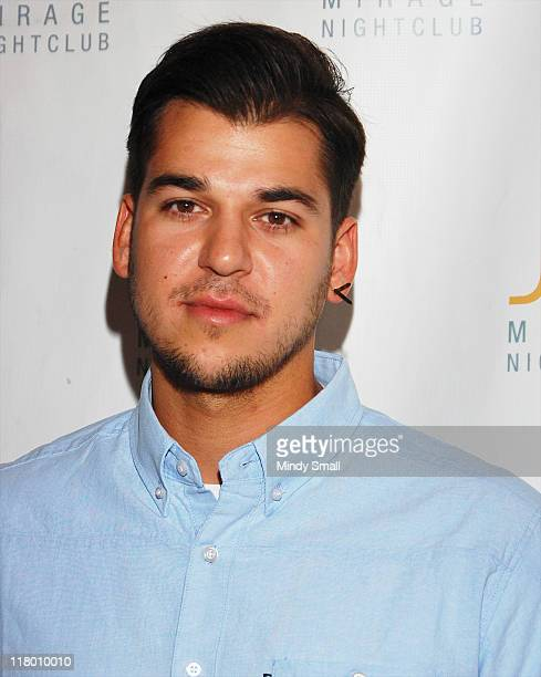 Rob Kardashian hosts Independence Day Weekend Party at Jet at The Mirage Hotel and Casino on July 2 2011 in Las Vegas Nevada