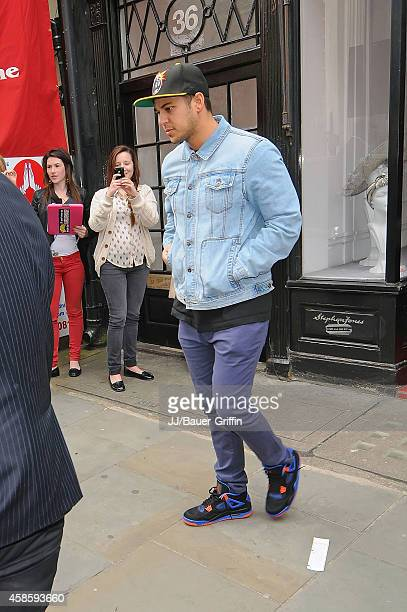Rob Kardashian is seen on May 21 2012 in London United Kingdom