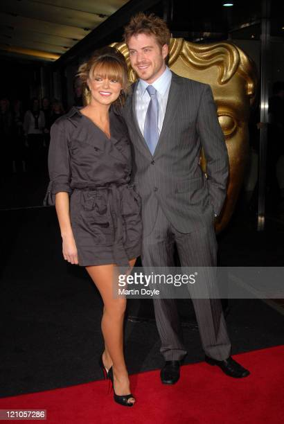 Rob Kazinsky and Kara Tointon arrive at the 12th British Academy Children's Awards at the London Hilton Park Lane on November 25 2007 in London...