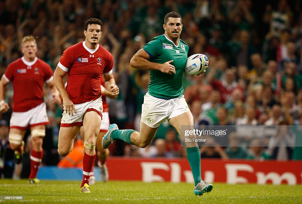 Ireland v Canada - Group D: Rugby World Cup 2015 : News Photo