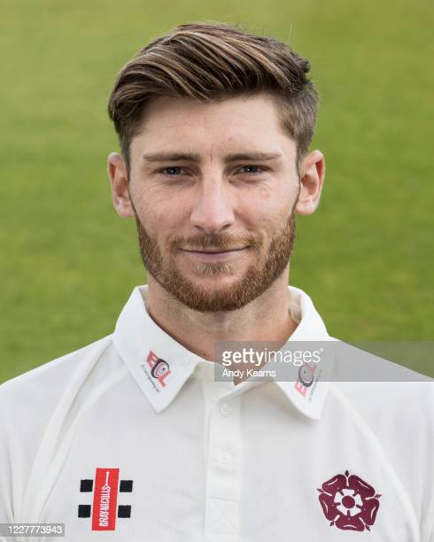Rob Keogh of Northamptonshire during the Northamptonshire County Cricket Club Photo Shoot at The County Ground on July 10 2020 in Northampton England