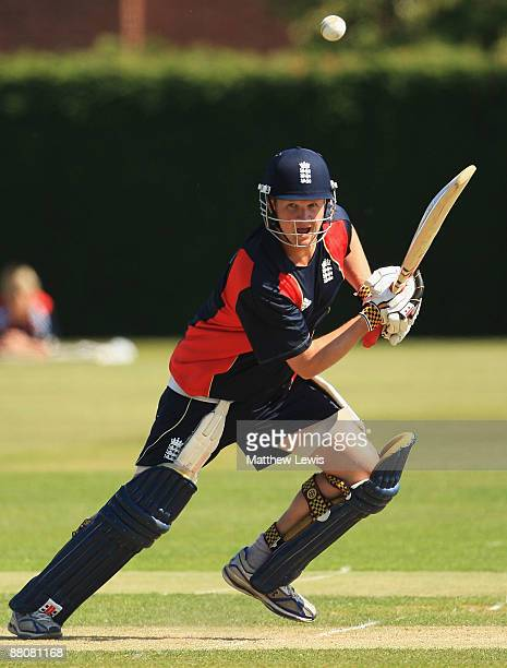 Rob Key of England in action during a nets session at the National Cricket Performance Centre at Loughborough University on May 31 2009 in...
