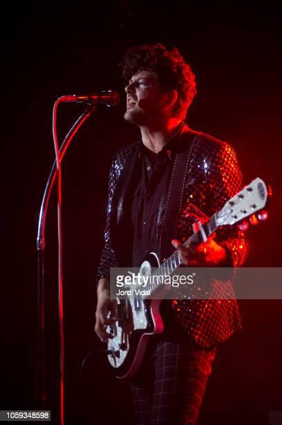 Rob Kolar of Kolars performs on stage at Sala Apolo on November 8 2018 in Barcelona Spain