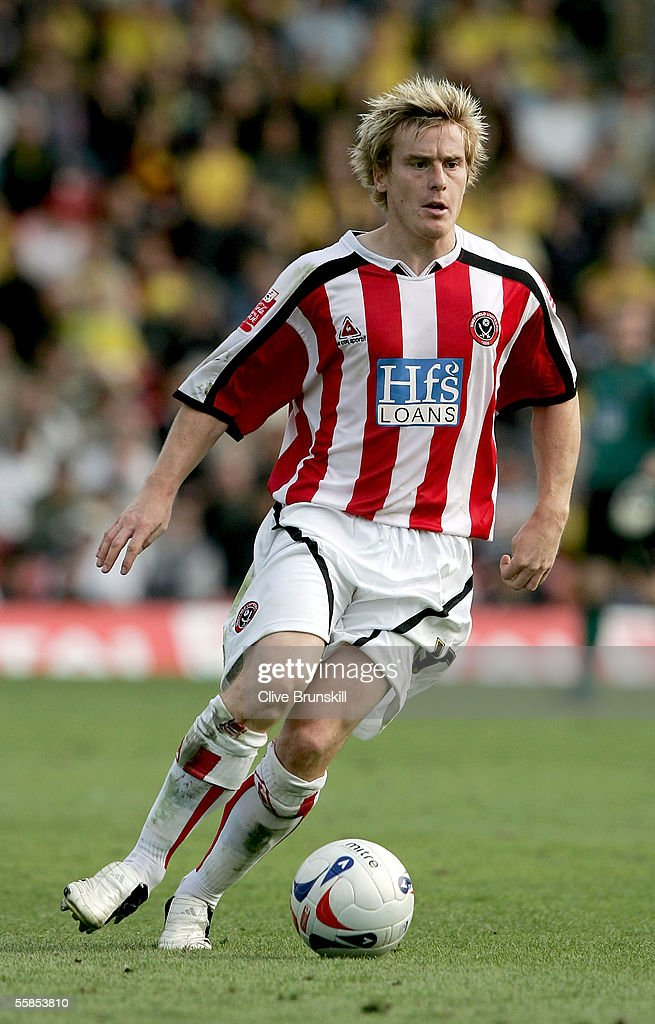 Rob Kozluk of Sheffield United in action during the Coca Cola Championship match between Watford and Sheffield United at Vicarage Road on September 17, 2004 in Watford, England.