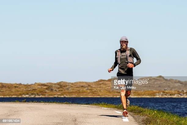 Rob Krar at The Arctic Triple Lofoten Ultra on June 3 2017 in Svolvar Norway The Arctic Triple Lofoten Ultra is the second of three races The others...