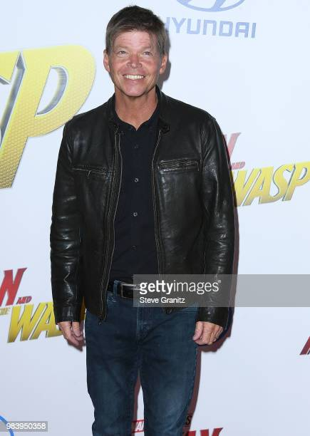 Rob Liefeld arrives at the Premiere Of Disney And Marvel's 'AntMan And The Wasp' on June 25 2018 in Hollywood California