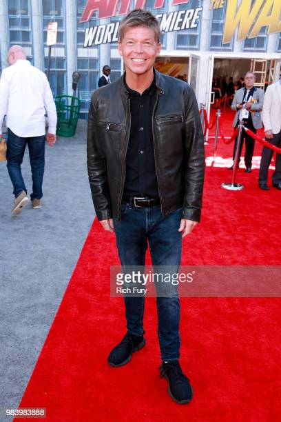 Rob Liefeld attends the premiere of Disney And Marvel's 'AntMan And The Wasp' on June 25 2018 in Hollywood California